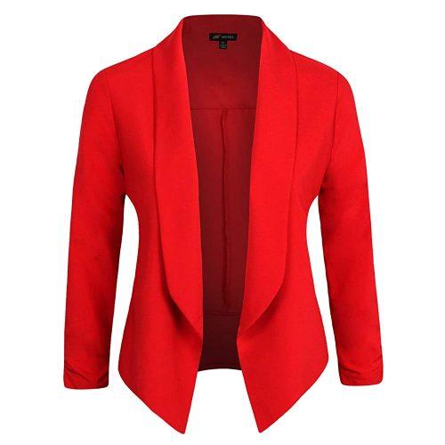 9. Michel Women's Blazer Work Office Lightweight Stretchy