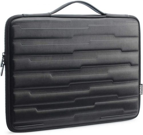 8. DOMISO 15.6 Inch Shock Resistant Laptop Sleeve