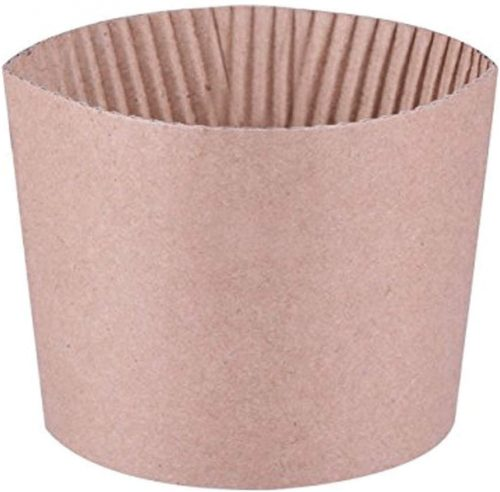 4. Lucky pack 500 Piece Cup Sleeve Corrugated