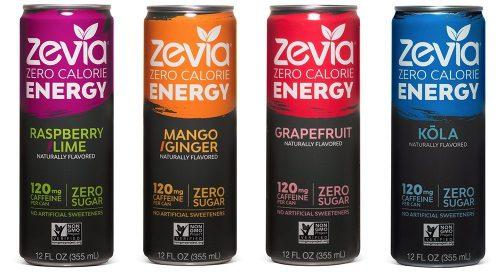 10. Zevia Zero Calorie Energy Drink