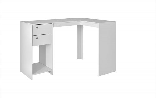 5. Manhattan Comfort Palermo Classic L-Shaped Office
