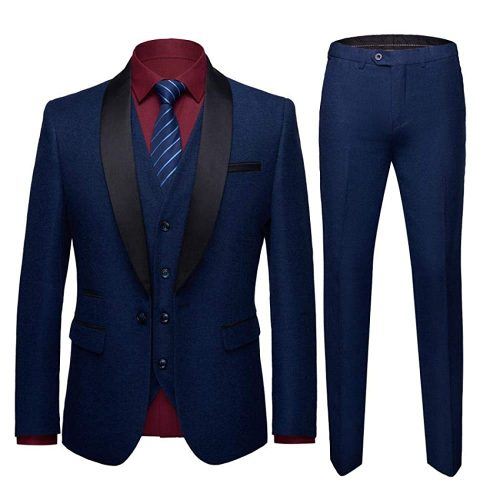 3. YYW Men's 3-Piece Slim Casual fit | Casual Suits For Men
