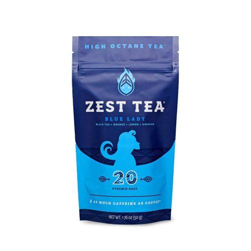 2. Zest Tea Energy Hot Tea