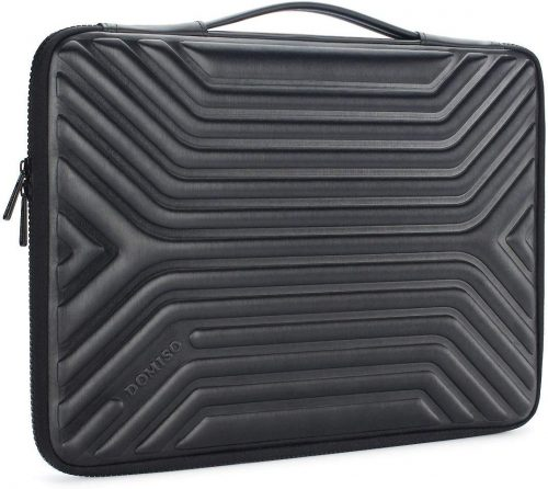 6. DOMISO 15.6 Inch Shockproof Waterproof Laptop Sleeve