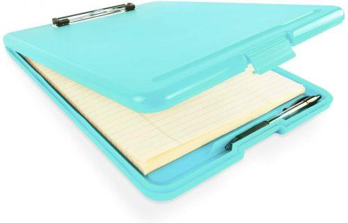 6. Slim Plastic Nursing RN Style Coaches Clipboard