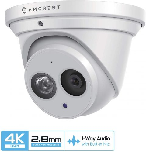 Amcrest UltraHD 4K (8MP) Outdoor Security IP Camera