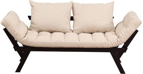 HOMCOM Futon Sleeper Sofa Bed