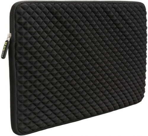 2. Laptop Sleeve, Evecase 15~15.6 inch Diamond Foam Splash