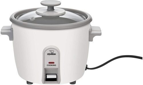 5. Zojirushi NHS-06 3-Cup (Uncooked) Rice Cooker