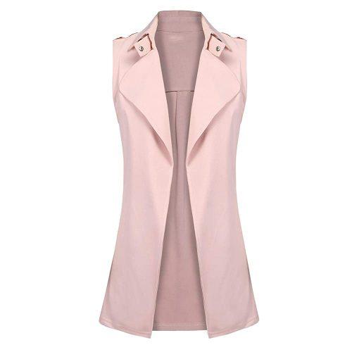 2. Gfones Women's Open Front Blazer Jacket