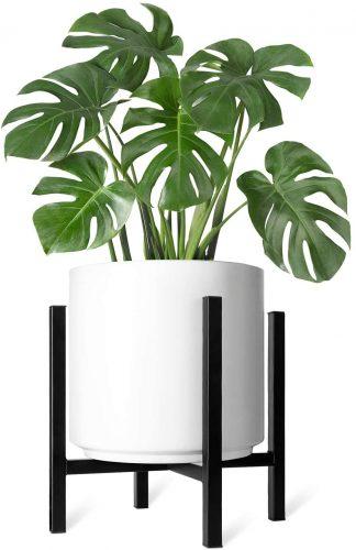 5. Mkono Plant Stand Mid Century Modern
