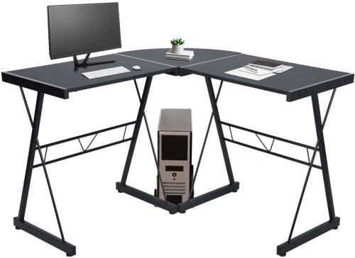 3. GreenForest L Shaped Corner Desk
