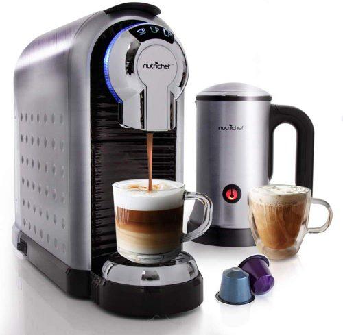 10. Nutrichef espresso machine