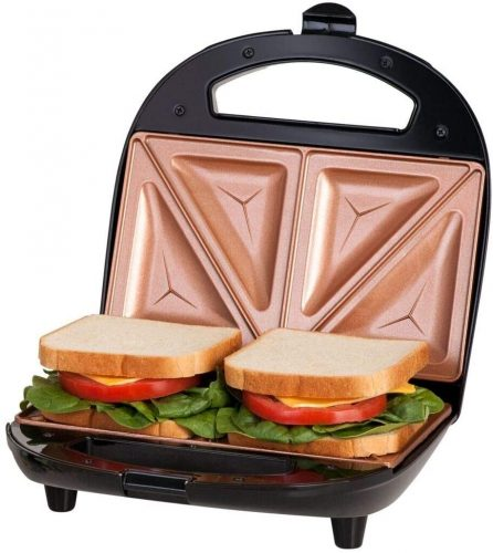 3. Gotham Steel Sandwich Maker, Toaster and Electric