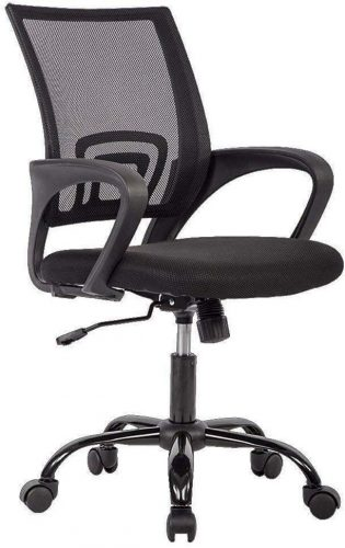 1. Office Chair Mesh Computer Chair Lumbar Support Modern