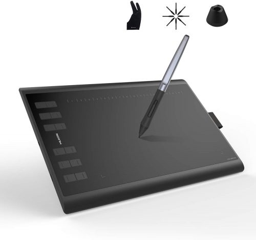 Huion Inspiroy H1060P Graphics Drawing Tablet | Cheap Drawing Tablets