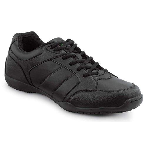 SR MAX Rialto Women's Black Slip Resistant Athletic Sneaker