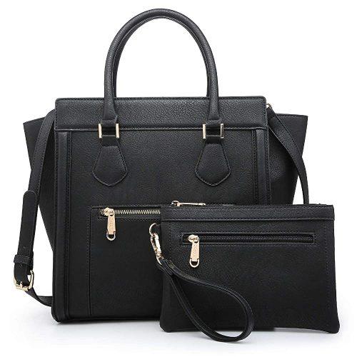 5. Dasein Women's Satchel Handbag