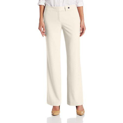 9. Calvin Klein Women's Classic-fit Suit Pants
