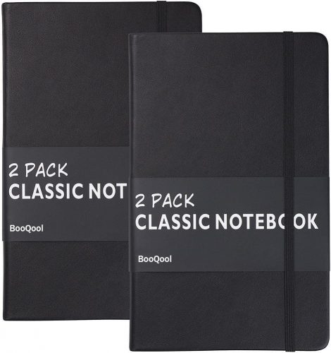 2. 2 Pack Classic Ruled Notebook