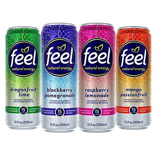 8.FEEL Natural Energy Drink