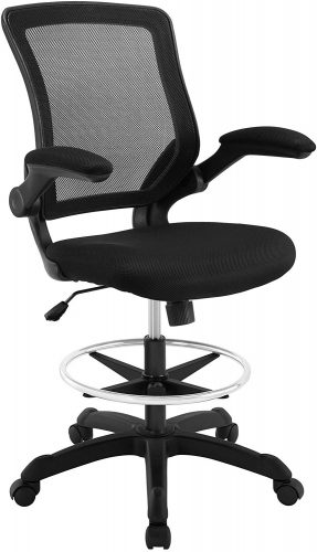 2. Modway Veer Drafting Chair