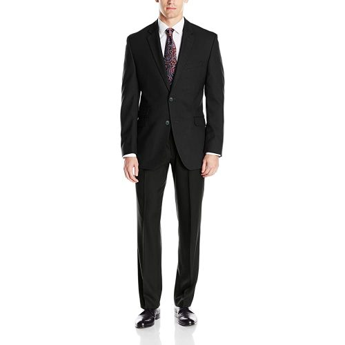 3.Perry Ellis Men's Suit with Hemmed pant