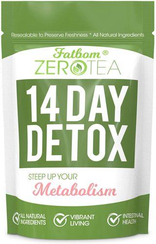 1. Zero Tea 14 Day Detox Tea