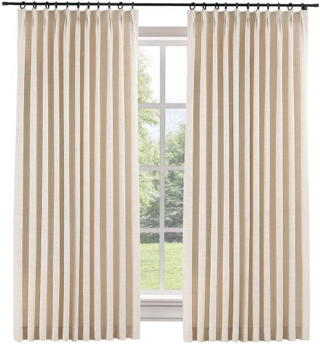TWOPAGES Blackout Curtain