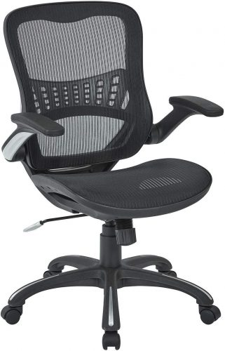 5. Office Star Mesh Back & Seat | Comfortable Desk Chair