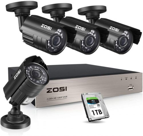 ZOSI Motion Activated Security Camera - Motion Activated Security Cameras