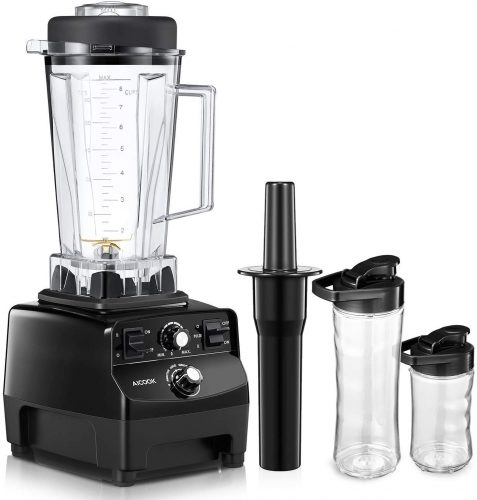 Homgeek Professional Countertop Blender - Heavy Duty Blenders