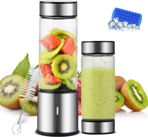 TTLIFE Two Lids Portable Blender