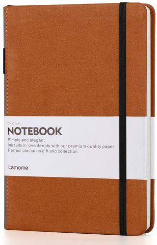 1. Thick Classic Notebook with pen loop