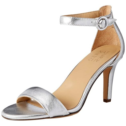 8. Naturalizer Women's Kinsley Sandal | Silver Heels