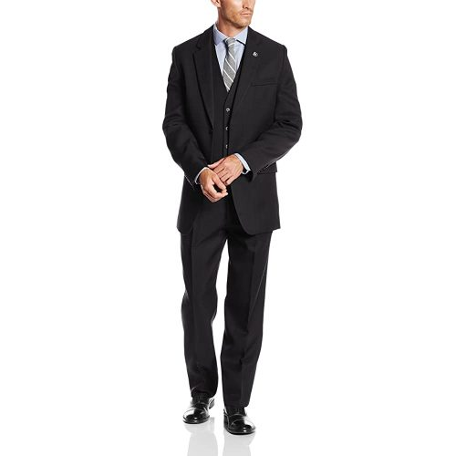 1. Stacy Adams Men's Big and tall Suny Vested Three-Piece Suit