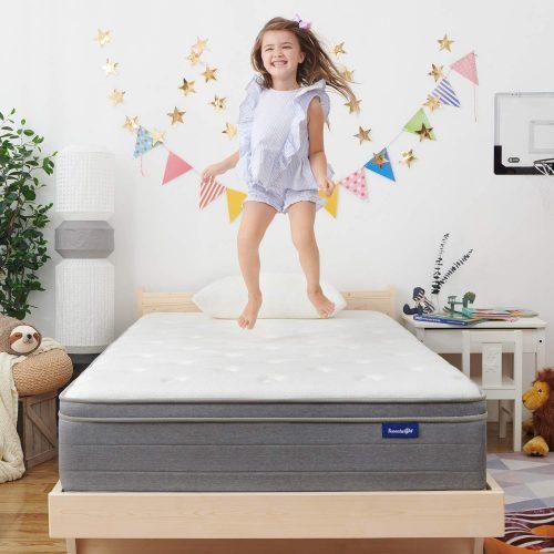 4. Sweetnight 10 Inch Full-Size Mattress In a Box| Platform Bed Mattresses