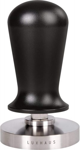 Luxus 58mm Calibrated Pressure Tamper   Coffee Machine Accessories