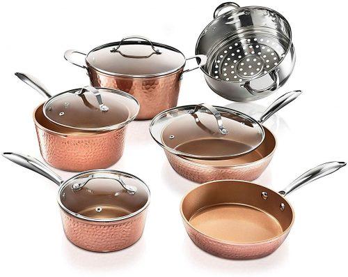 5. Gotham Steel Pots and Pans set