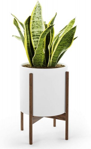 9. Mid Century Plant Stand