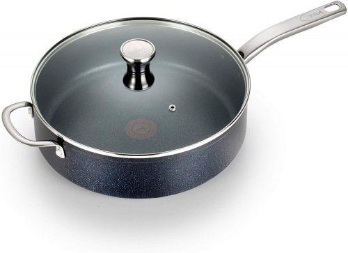 3. T-fal G10482 Heatmaster Nonstick| Saute Pan