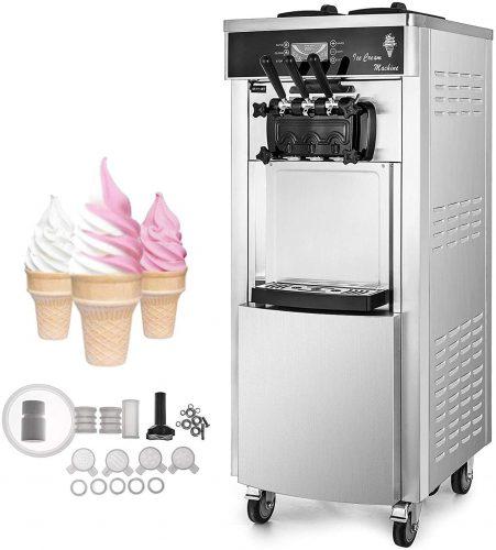 10. VEVOR Commercial Ice Cream Machine Serve Yogurt Maker