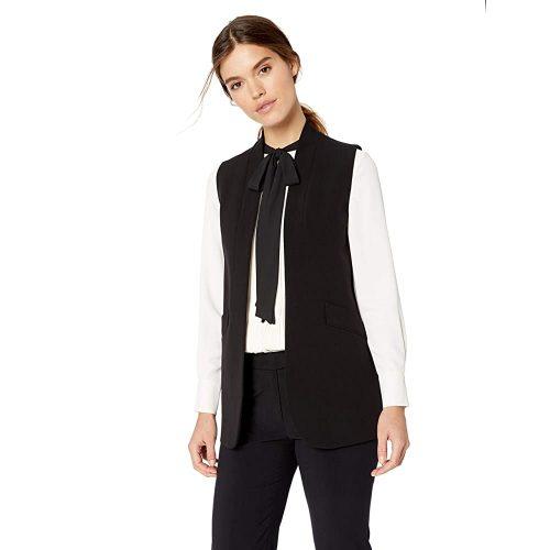 3. Anne Klein Women's Sleeveless Long Vest