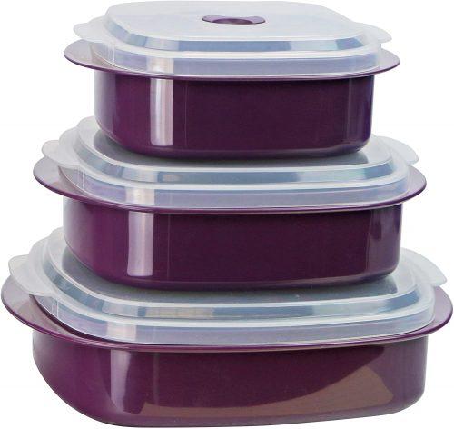 9. Calypso Basics by Reston Lloyd 6-Piece Microwave Cookware