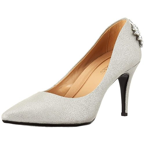 3. Aerosoles Women's Deans List Pump | Silver Heels