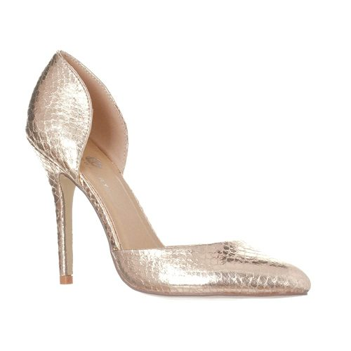 8. Riverberry Women's Nora Pointed Toe, Slip On D'Orsay Pump Heels