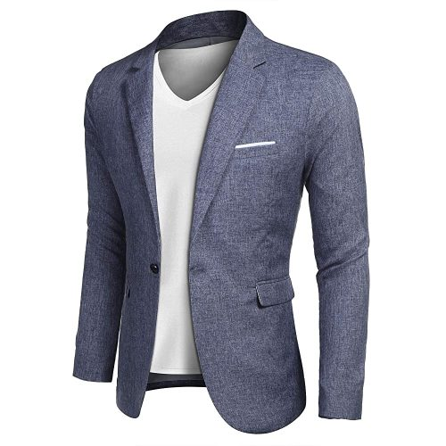 7.Coofandy Men's Casual Suit | Casual Suits For Men