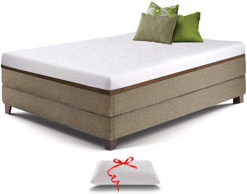 2. Live and Sleep Resort Ultra Twin Size Mattress | Platform Bed Mattresses