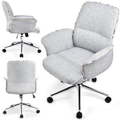 10. COMHOMA Home Office Desk | Comfortable Desk Chair