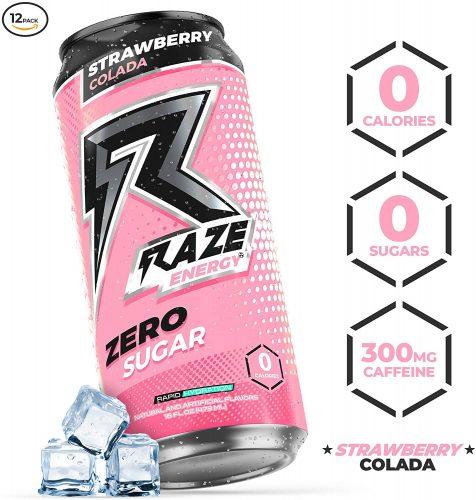 10. Raze Energy Drink | Healthy Energy Drinks